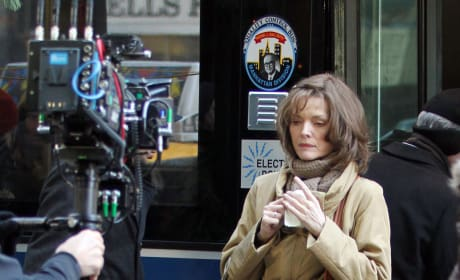 Michelle Pfeiffer On New Year's Eve Set
