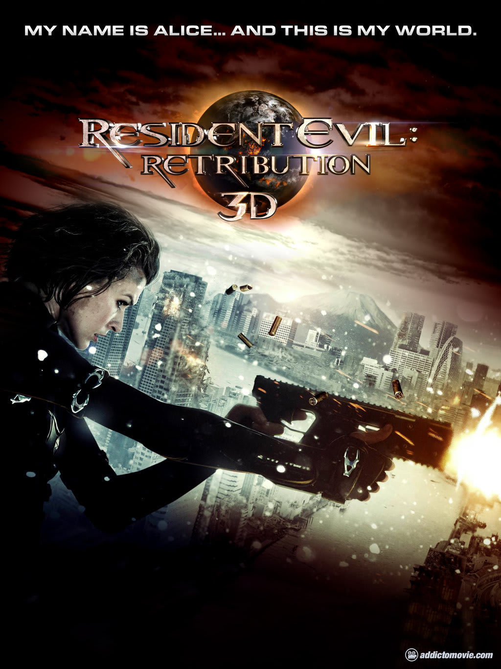 Poster For Resident Evil Retribution Movie Fanatic