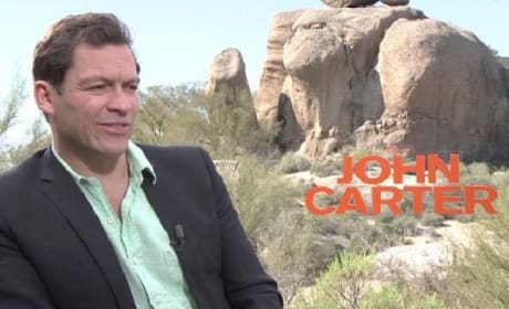 John Carter Exclusive: Dominic West Video Interview