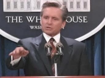 President Andrew Shepherd Picture
