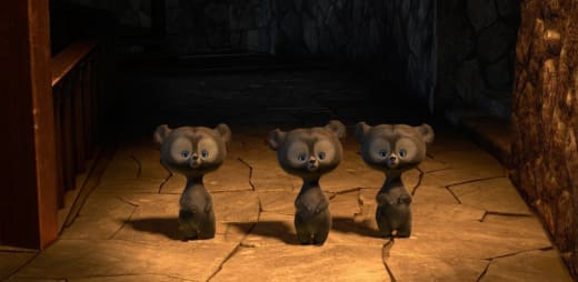 3 bears from Brave