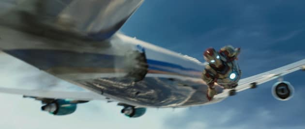 Iron Man Airplane Still