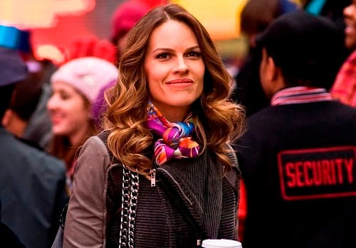 Hilary Swank in New Year's Eve