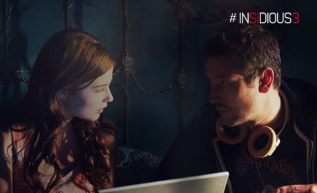 Insidious Chapter 3 Leigh Whannell Stefanie Scott