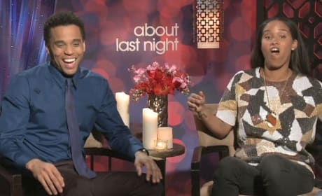 About Last Night Exclusive: Michael Ealy & Joy Bryant Interview