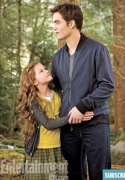 Renesmee and Edward Breaking Dawn Part 2 Still