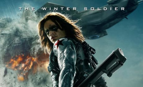 Captain America The Winter Soldier Sebastian Stan Poster