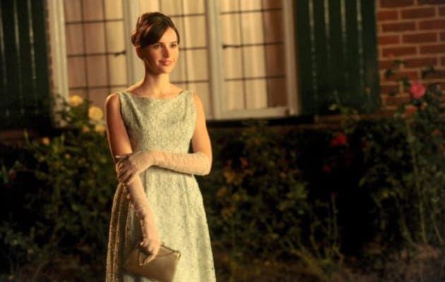 Felicity Jones Stands in Awe