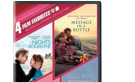 Safe Haven Exclusive Giveaway: Win a Nicholas Sparks 4-Film Collection!