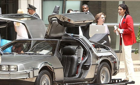 Russell Brand Goes Back to the Future!