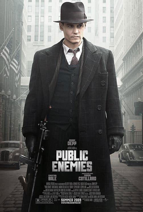 Public Enemies Poster