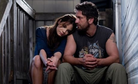 Gerard Butler and Michelle Monaghan in Machine Gun Preacher