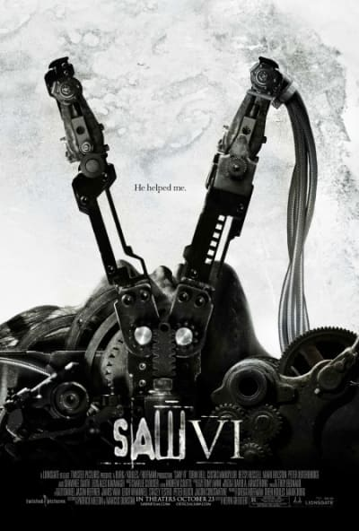 Saw VI theatrical poster