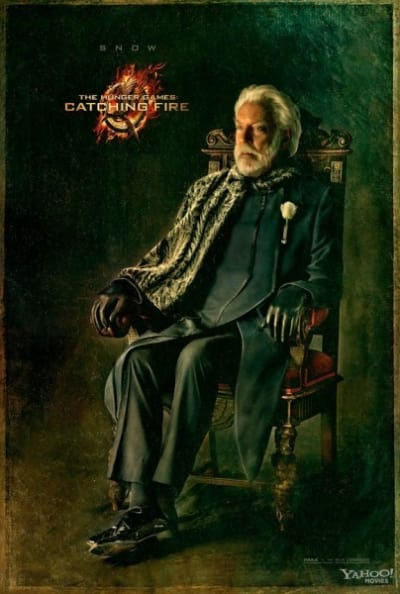 Catching Fire Donald Sutherland