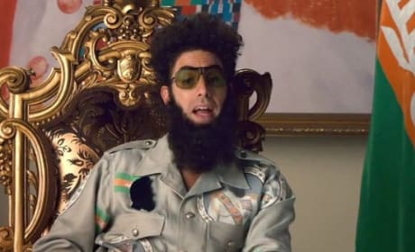 Sacha Baron Cohen is The Dictator