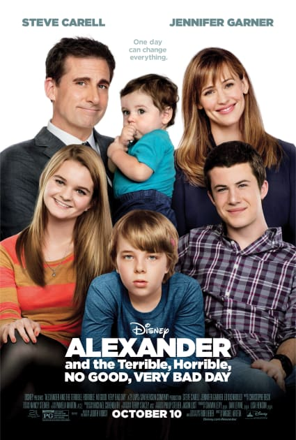 Alexander and the terrible horrible no good very bad day before