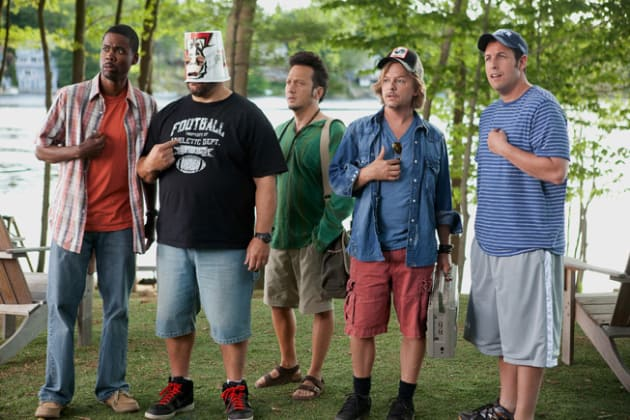 The Cast of Grown Ups