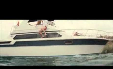 Piranha 3D Boat Crash Clip