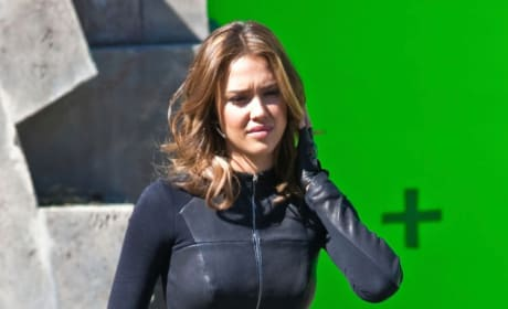 Jessica Alba Spy Kids Set 6