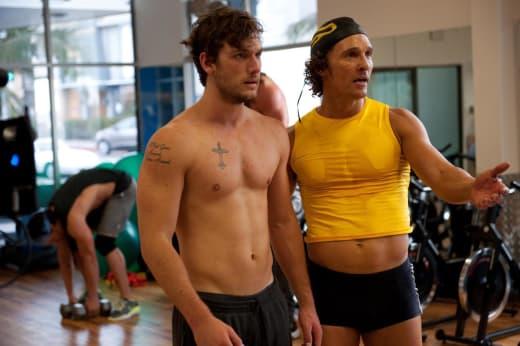 Alex Pettyfer and Matthew McConaughey Magic Mike