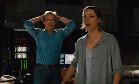 Transcendence Rebecca Hall Paul Bettany