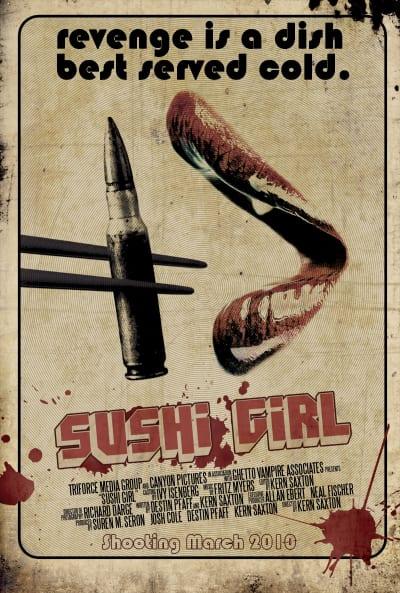 Sushi Girl Teaser Poster