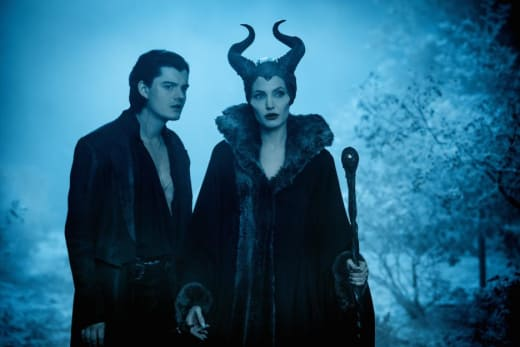 Sam Riley Angelina Jolie Maleficent