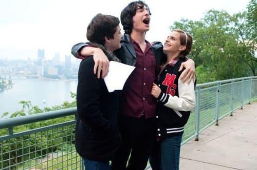 Logan Lerman, Ezra Miller and Emma Watson The Perks of Being a Wallflower