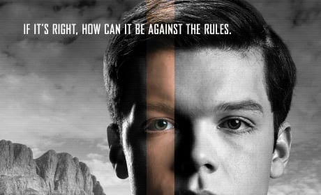 The Giver Cameron Monaghan Character Poster