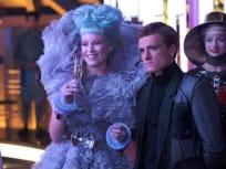 The Hunger Games Catching Fire Elizabeth Banks Josh Hutcherson