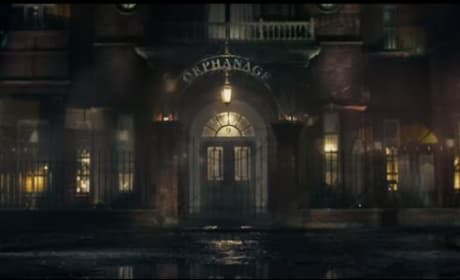 Screen Shot of the Orphanage from The BFG