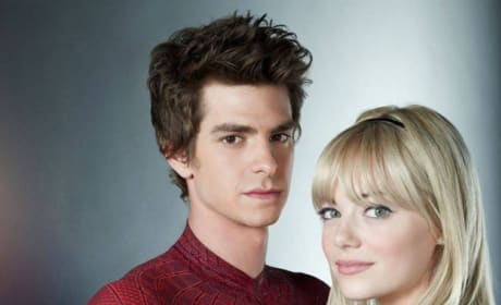 The Amazing Spider-Man Still: Gwen Stacy and Peter Parker
