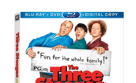 The Three Stooges Exclusive Giveaway: Win a Blu-Ray DVD