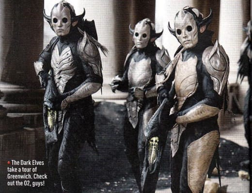 Thor The Dark World: The Dark Elves