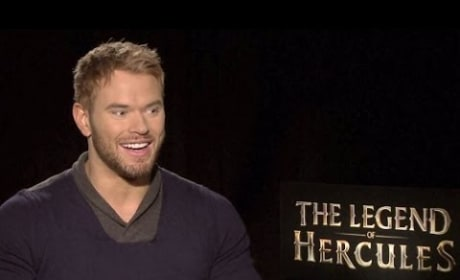 Kellan Lutz Exclusive The Legend of Hercules Interview