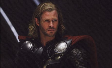 Empire: Chris Hemsworth as Thor