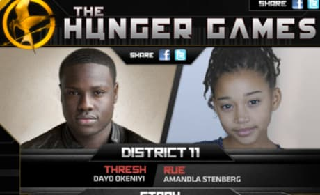 Hunger Games Casting Game