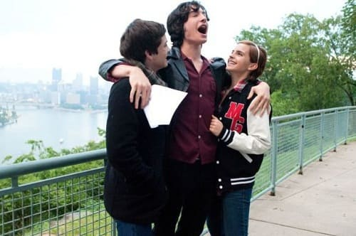 Logan Lerman, Ezra Miller and Emma Watson The Perks of Being a Wallflower