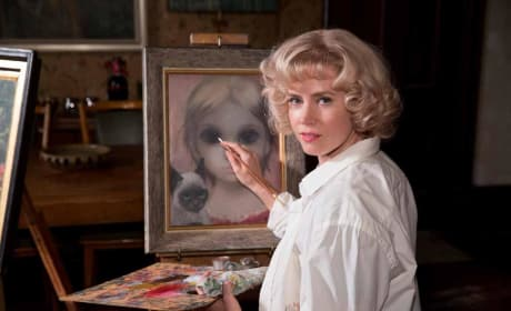 Big Eyes Trailer: Amy Adams Paints a Tim Burton Picture