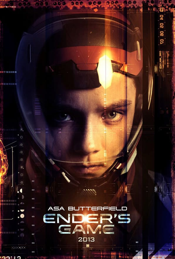 Ender's Game Character Poster: Asa Butterfield