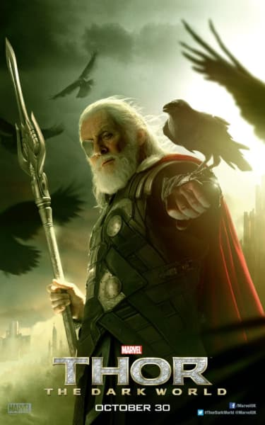 Thor The Dark World Odin Character Poster