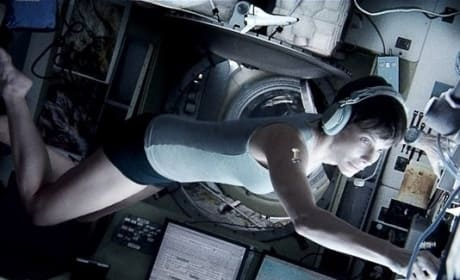 Gravity Still: Sandra Bullock Floating