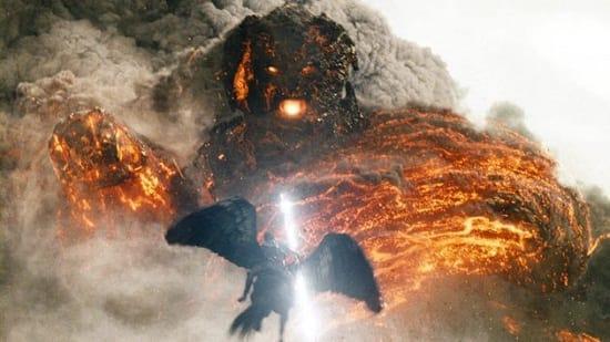 Wrath of the Titans: Sam Worthington Flies