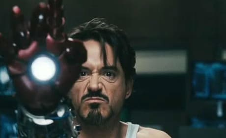 Iron Man Photos: Tony Stark in Action, in Office