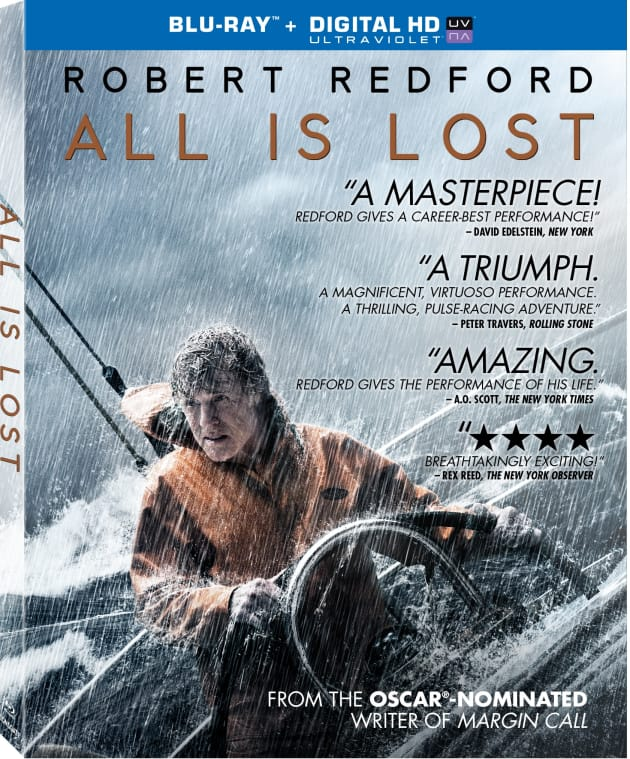 All Is Lost Exclusive Giveaway: Win Robert Redford Lost At