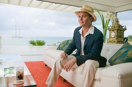 Johnny Depp is Paul Kemp in The Rum Diary