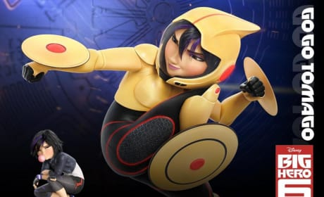 Big Hero 6 Go Go Tomago Poster