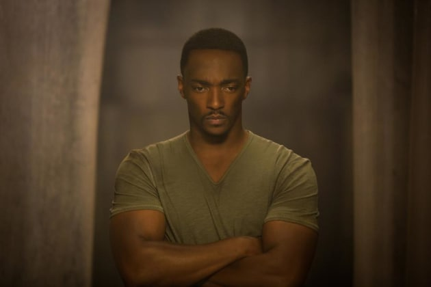 Anthony Mackie is Falcon