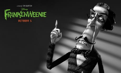 Mr. Rzykruski Frankenweenie Wallpaper