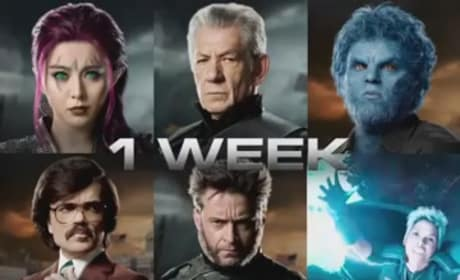 X-Men Days of Future Past: Instagram Video Teases Trailer